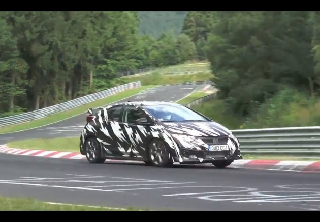 2015 Honda Civic Type R prototype