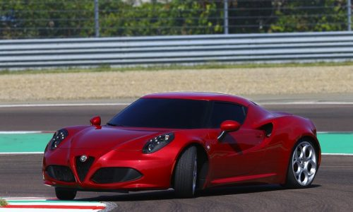Alfa Romeo 4C details announced, drive impression by Fisichella (video)