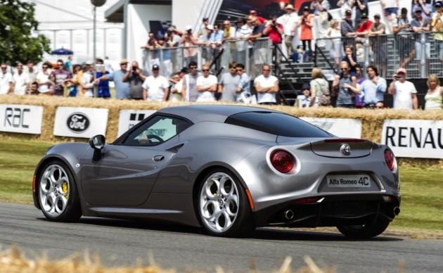 Alfa Romeo 4C rear