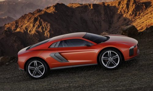 Audi Nanuk quattro concept is like an R8 crossover