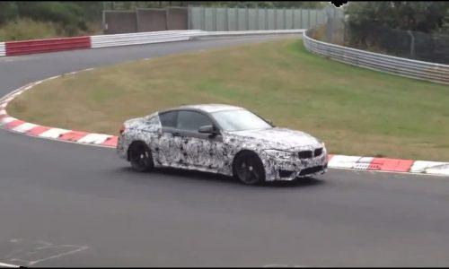 Video: BMW M4 prototype undergoing 'drift tests' at Nurburgring