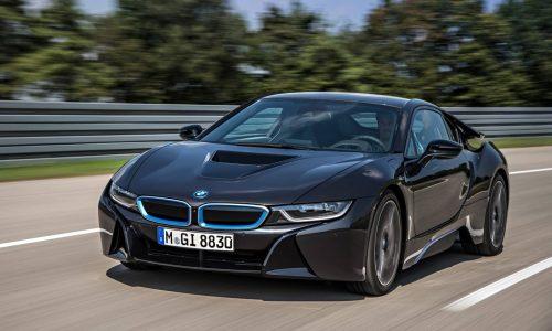 BMW i8 production car unveiled at Frankfurt Motor Show