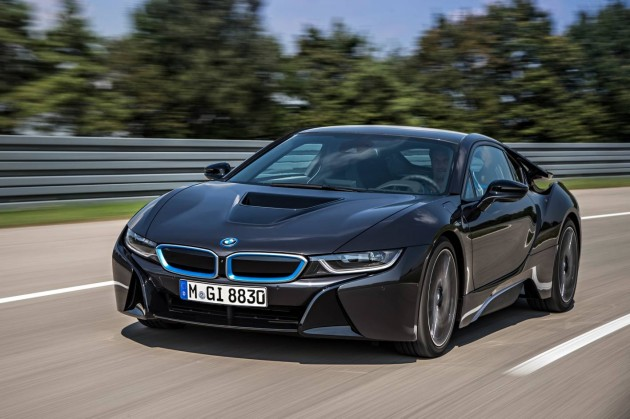 BMW i8 production car-front