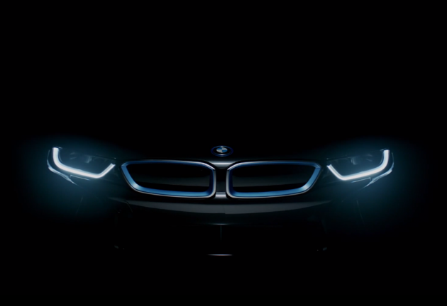 BMW i8 production car preview