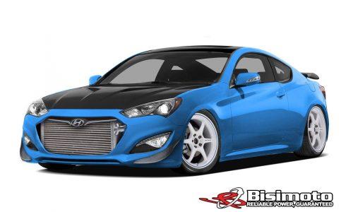 1000hp Bisimoto Hyundai Genesis to debut at SEMA