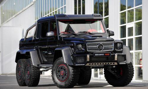 Brabus B63S 6×6 monster revealed, 515kW