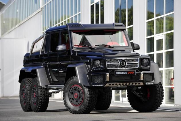Brabus B63S Mercedes-Benz G 63 AMG 6x6