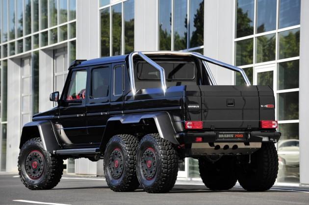 Brabus B63S Mercedes-Benz G 63 AMG 6x6 rear