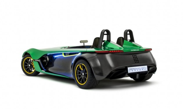 Caterham AeroSeven Concept rear