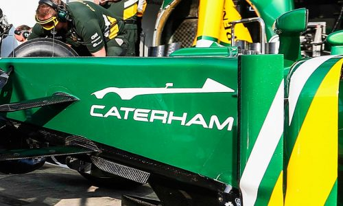 Caterham teases all-new model on the side of F1 car