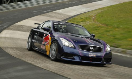 Infiniti G37 Coupe track car previews future direction