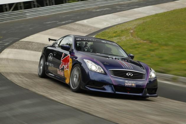 Infiniti G37 Coupe track car