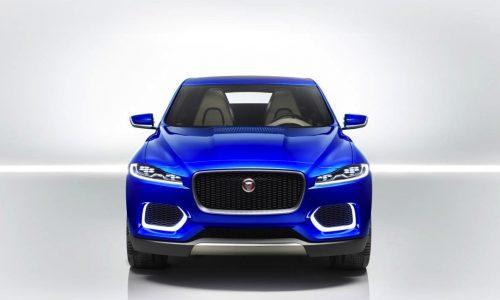 Jaguar C-X17 concept front end revealed