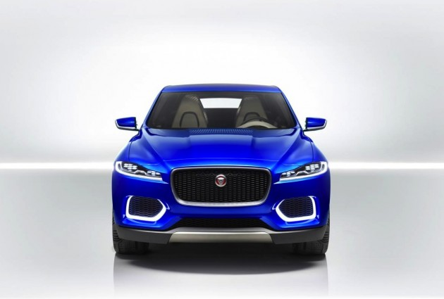 Jaguar C-X17 concept front