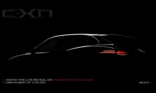 Jaguar C-X17 concept to preview upcoming SUV
