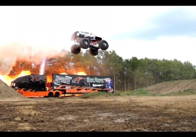 Joe Sylvester Bad Habit monster truck