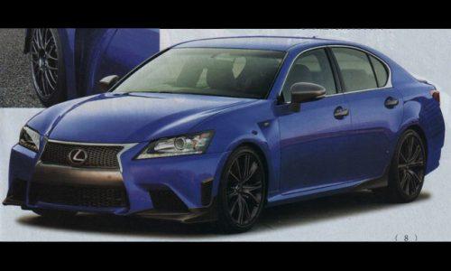 Lexus GS F performance sedan revealed? Prototype spotted