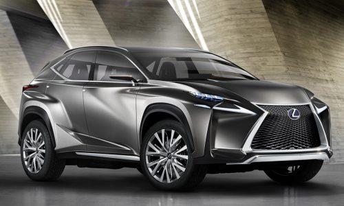 Lexus LF-NX concept revealed, previews 'NX' compact SUV