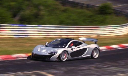 McLaren P1 sets Nurburgring lap time of 7:04? – report