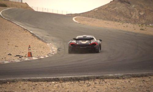 Video: McLaren P1 undergoes hot weather testing