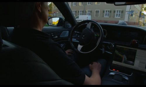 Video: Mercedes-Benz showcases S 500 'Intelligent Drive' prototype