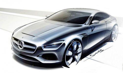 Mercedes-Benz S-Class Coupe set for Frankfurt debut