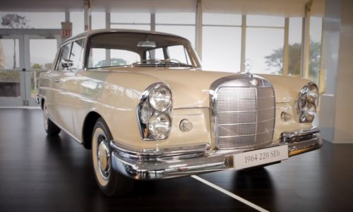 Mercedes-Benz looks into the history of the iconic S-Class