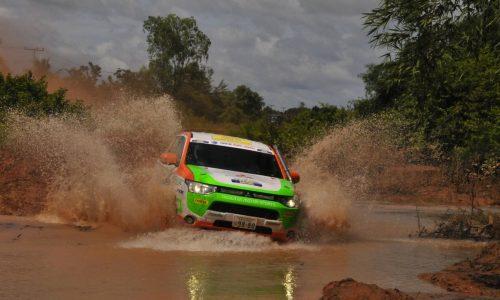 Mitsubishi Outlander PHEV – first plug-in hybrid rally car?