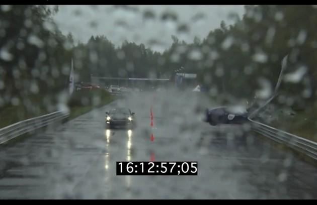 Nissan GT-R crash Unlim 500