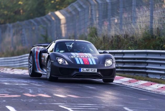 Porsche 918 Spyder Nurburgring record