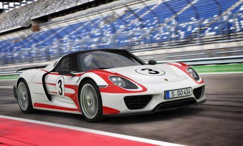 Porsche 918 Spyder production car revealed