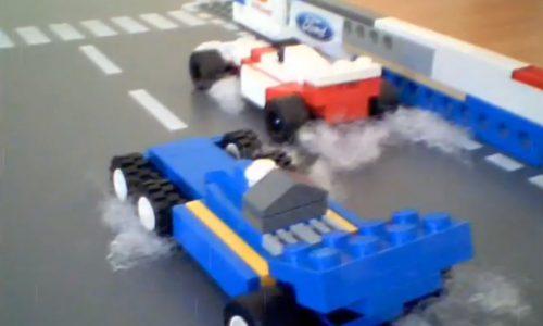 'Rush' movie trailer… in Lego