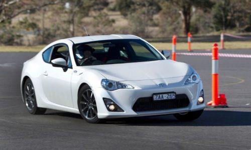 Toyota 86 updated in Australia, standard LSD for auto GT