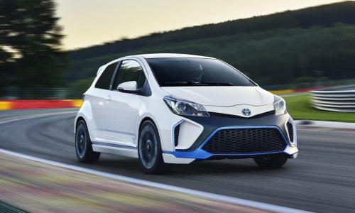 Toyota Hybrid-R concept revealed, 313kW Yaris-based beast