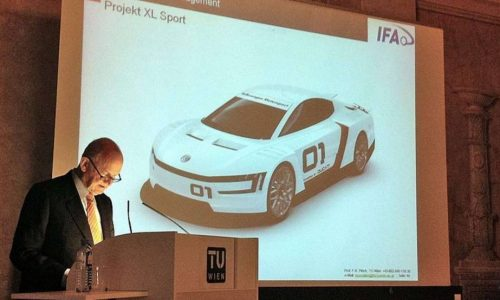 Volkswagen XL Sport project, powered by a Ducati engine