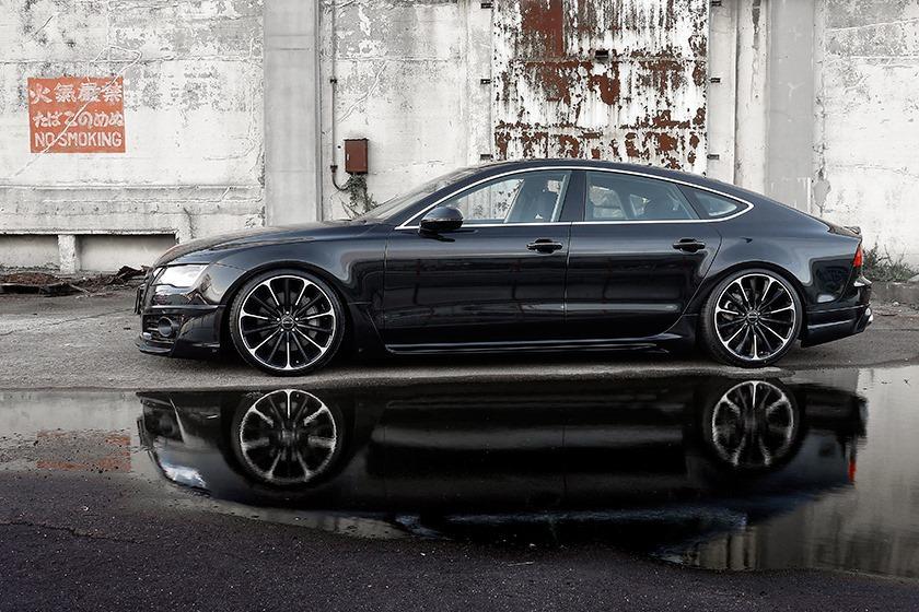 Wald International Gives The Audi A7 Vip Treatment Performancedrive