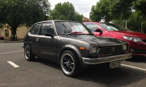 For Sale: 1975 Honda Civic with PGM-F1 turbo conversion