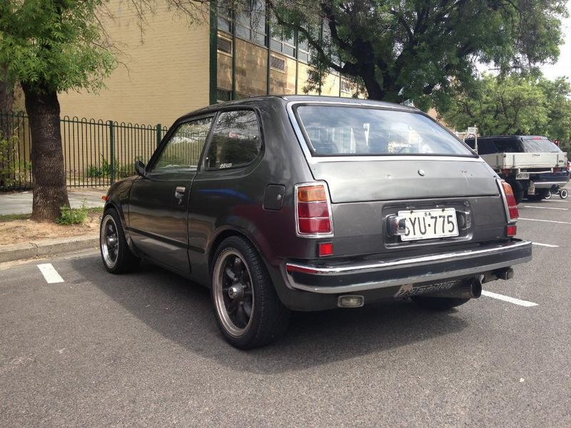 For Sale: 1975 Honda Civic with PGM-F1 turbo conversion ...