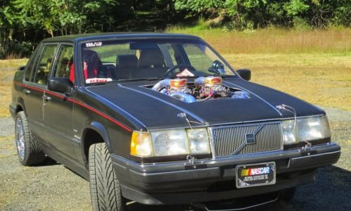 For Sale: 1992 Volvo 960 with 2200hp quad-turbo V8