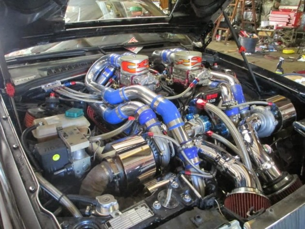1992 Volvo 960 with Dart 565 quad turbo V8-engine