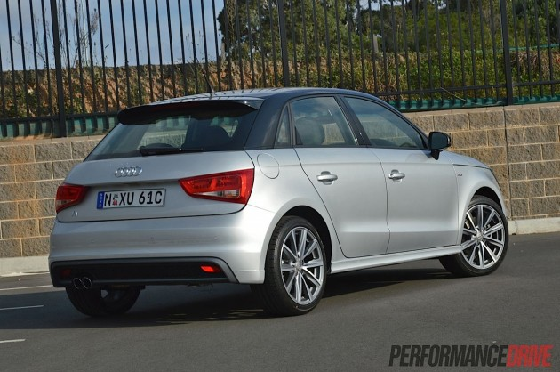 2013 Audi A1 Sportback S line Competition-rear