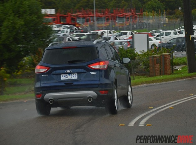 2013 Ford Kuga Trend rear