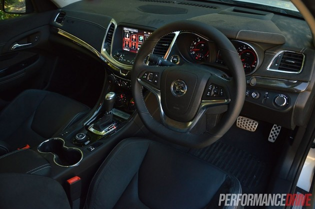 2013 HSV Gen-F GTS interior