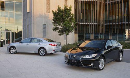 New Lexus ES 300h & ES 350 on sale from $63,000