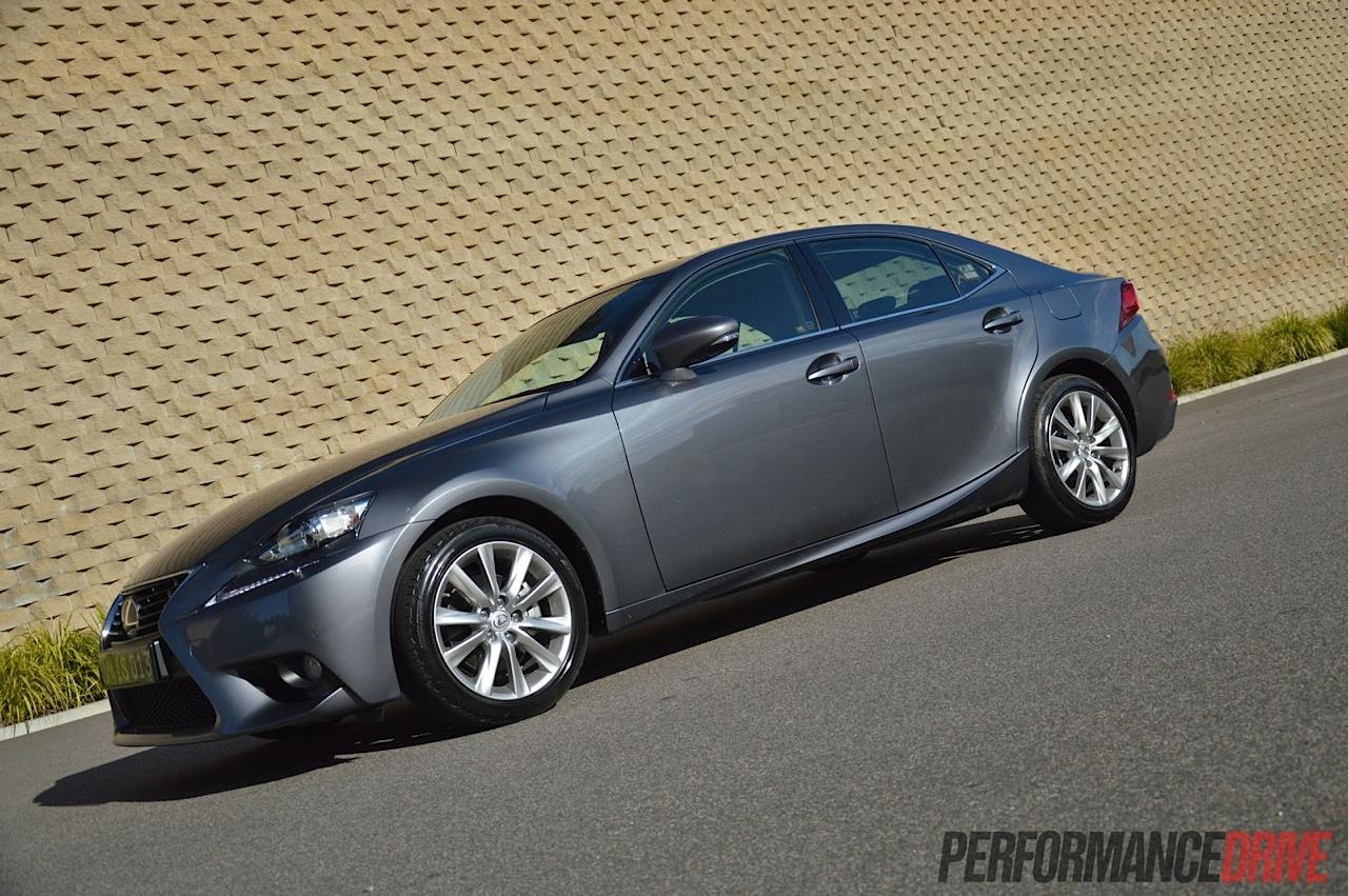 2013 Lexus IS 250 review (video) | PerformanceDrive