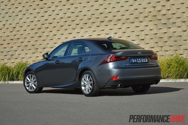 2013 Lexus IS 250 Luxury rear