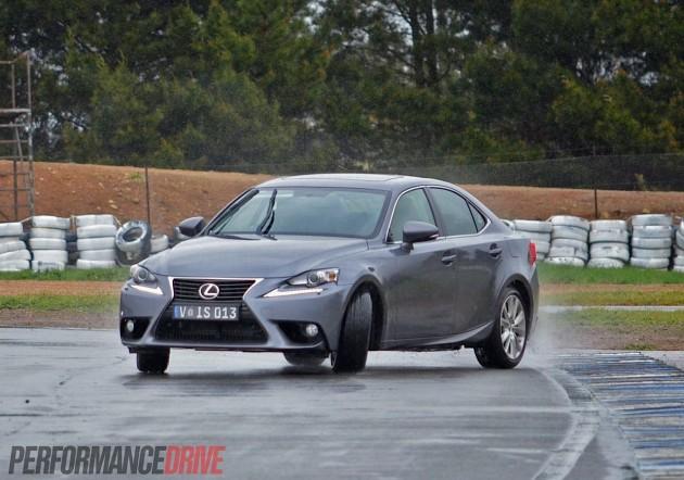 2013 Lexus IS 250 drifting-PerformanceDrive