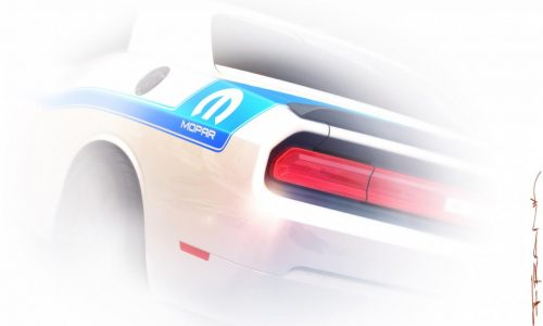 Dodge Challenger Mopar special edition to debut at SEMA