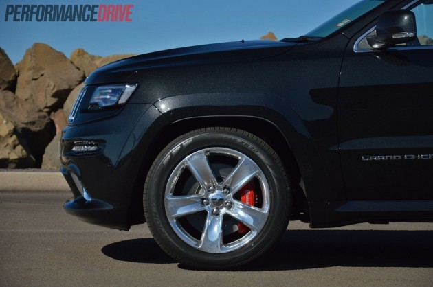 2014 Jeep Grand Cherokee SRT 20in wheels Brembo brakes