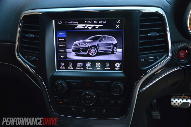 2014 Jeep Grand Cherokee SRT performance pages